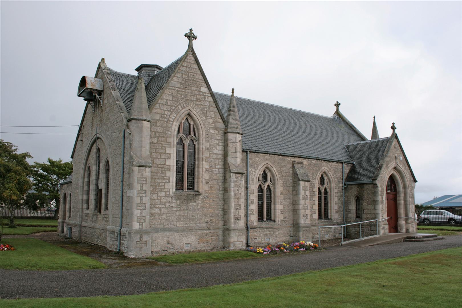 Clyne (Brora) Church of Scotland, 2008  sandysroutesandshoots